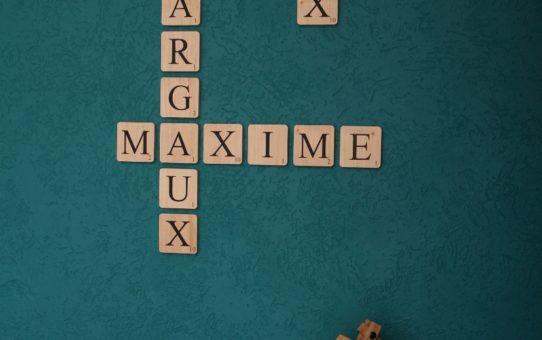 Scrabble mural